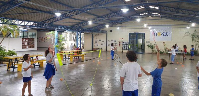 Atividades esportivas uma prática constante no Inovati!